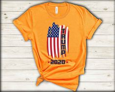Vote Trump, Great T Shirts, Personalized T Shirts, Gift Store, Cotton Tee, Donald Trump, Colorful Shirts, Campaign, America