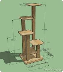 Cat Tree Ideas or a plant stand.