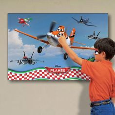 Click and checkout today with your Disney Planes Party Games - Pin Dusty the Plane by weeabootique! #shop
