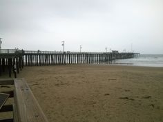 Day 53 - Dec. 23, 2012 - Driving down the coast to visit family for Christmas. Stopped to stretch my legs in Pismo Beach.