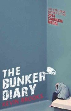 The bunker diary by Kevin Brooks ---- Sixteen-year-old Linus Weems, a street person since leaving his wealthy father's home, is kidnapped and taken to an underground bunker where he is soon joined by five others, ranging in age from nine to seventy, who are alternately cared for and tortured by their unseen captor. (March)
