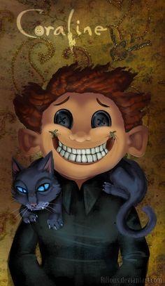 Coraline: Smile by Bilious.deviantart.com