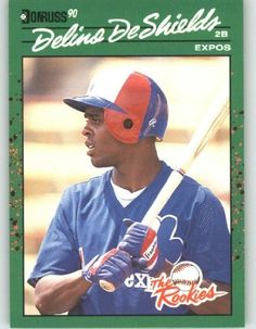 1990 Donruss Rookies #6 Delino DeShields - Montreal Expos (Baseball Cards) by Donruss Rookies. $0.88 Montreal, School Sports, Mlb, Baseball Cards, Free, Outdoors, Childhood Memories, Exterior, Off Grid