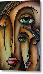Ditto Metal Print by Michael Lang