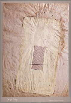 Joseph Beuys: Fat and grid principle (1960)