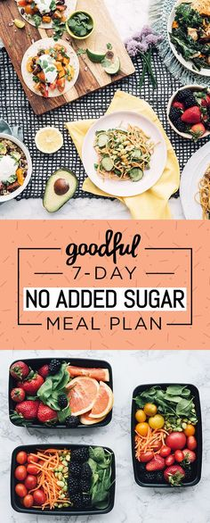 Diet Meal Plans You'll learn how to eat well, prep more, spend less — and feel amazing along the way. - You'll learn how to eat well, prep more, spend less — and feel amazing along the way. Paleo Diet Meal Plan, Detox Meal Plan, 7 Day Meal Plan, Low Carb Meal Plan, Diet Meal Plans, Detox Meals, Vegetarian Meal, Daily Meal Plan Healthy, Low Sugar Diet Plan