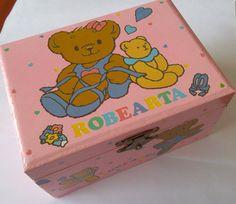 Vintage Sanrio Robearta Jewelry Music Box by dollface1978 on Etsy Kawaii Crafts, Sanrio, My Childhood, Toy Chest, Vintage Toys, Storage Chest, School Stuff, School Supplies, Antique Toys