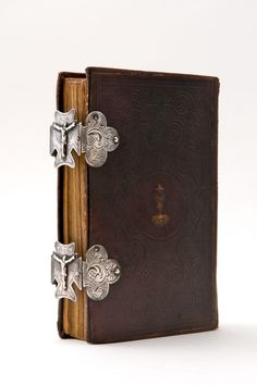 Prayer book with silver clasps - Anno 1843