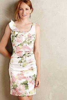 Pointillist Pencil Dress