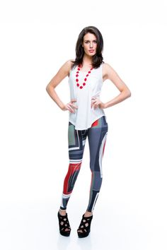 La La Legs Australian digitally printed, hand made leggings