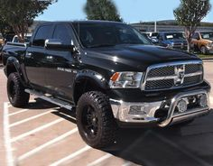 Dodge Ram Black Rims One day, one day.