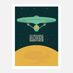 Go Boldly 18x24 now featured on Fab.