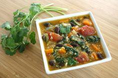Quinoa Black Bean Soup