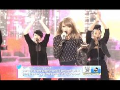 Taylor Swift - Welcome To New York. Good Morning America Times Square, oct 2014