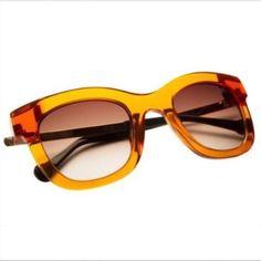 Chilli Beans Orange/Clear Sunglasses