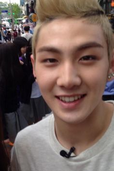 Baekho from NU'EST: Isn't he cute? I <3 him!! haha