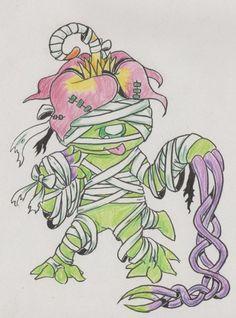 Palmon  Digimon Adventure Halloween   FanArt