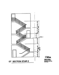 Concrete Stair Section Drawing #stairs Pinned by www