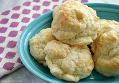 These homemade drop biscuits are easy to prepare entirely from scratch and can be ready in under 20 minutes from ingredients you already have on hand. Add cheese is good too...maybe a bit more sugar for a sweeter version.