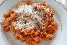 Greek Recipes, Macaroni And Cheese, Ethnic Recipes, Food, French, Recipe, Grated Cheese, Eat Lunch, Food Portions
