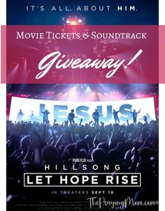 """Want to go to the new Hillsong """"theatrical worship experience""""? Enter to win…"""