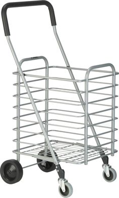 Polder® Folding Shopping Cart in Travel, Bags, Carts Folding Shopping Cart, Shopping Carts, Storage Cart, Crate And Barrel, Crates, Canning, Travel Bags, Home Decor, Pedestrian