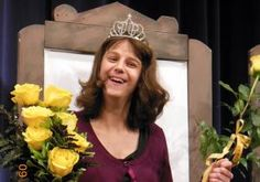An Iowa teen with cerebral palsy became high school royalty on Monday.         Courtney Tharp's classmates at Waverly-Shell Rock Senior High School selected her as their homecoming queen-and the 17-year-old couldn't have been happier.