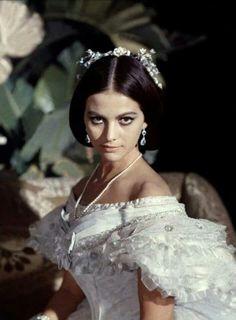 """Claudia Cardinale ne """"Il Gattopardo"""", 1963"""