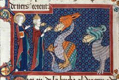 This dragon has LITERALLY NOT ONE CLUE why everybody has frogs coming out of their mouths. | 44 Medieval Beasts That Cannot Even Handle It Right Now