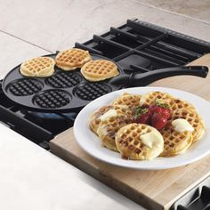 Shop Nordic Ware Silver Dollar Waffle Griddle, 01930 at CHEFS.