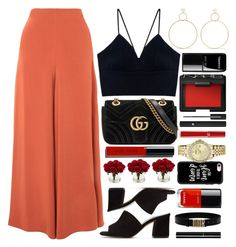 """Lima"" by monmondefou ❤ liked on Polyvore featuring Maryam Nassir Zadeh, Natasha Schweitzer, Topshop, Gucci, Bobbi Brown Cosmetics, Chanel, NARS Cosmetics, Giorgio Armani, Nearly Natural and Casetify"