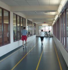 5 Great Ways to Get an Indoor Walking Workout: Indoors Walking Track