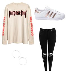 """""""Bieber"""" by justin-bieber54 ❤ liked on Polyvore featuring Boohoo and adidas"""