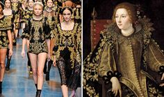 Canvasses on the Catwalk: Milan Fashion Week's History Lessons, From the Baroque Era to Helmut Newton