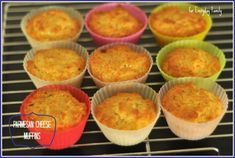 Try these yummy Parmesan Cheese Muffins and Baked Chicken Nuggets with your toddler!