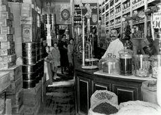 Fotos antiguas de Madrid: Los ultramarinos | Secretos de Madrid