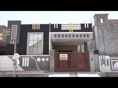 Single Floor House Design, House Front Design, Festival Flyer, Telugu, Architects, Windows, Flooring, Youtube, Furniture