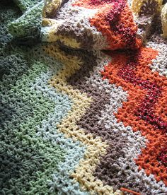 Express V-Stitch Ripple Pattern! Take a look and download free pattern now!