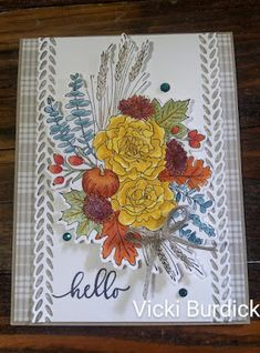 It's a Stamp Thing: Hello Autumn Greetings