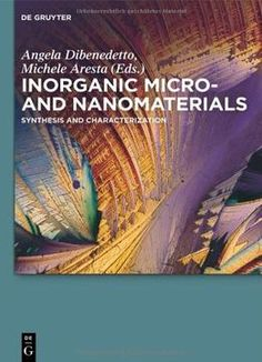Inorganic Micro- And Nanomaterials PDF