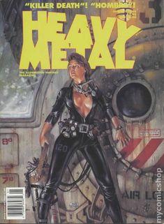 Heavy Metal Magazine Covers - MELT