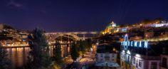 The Dom Luis I bridge in Porto spans the river Douro. Picture courtesy of raphael.chekroun on Flickr. Porto, Portugal
