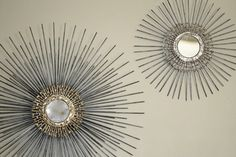 27in Starburst / Sunburst Mirror by SamjenArts on Etsy, $89.00