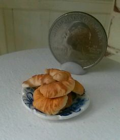 Dollhouse Miniature One Inch Scale croissants by CSpykersMiniatures