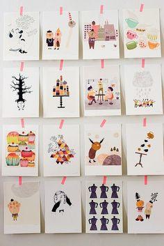 Sandra Juto. Fun prints