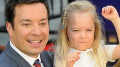 Jimmy Fallon got his own ride at Universal Studios Orlando on Thursday, April but it was his daughters who were getting all the attention.