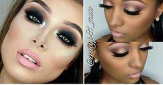 Maquillaje de ojos ahumados en diferentes tonos, ¡no te lo pierdas!