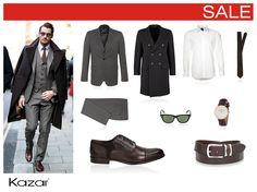 David Gandy - exceptional sense of style.