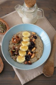 terci de ovaz clasic Baby Food Recipes, Oatmeal, Deserts, Food And Drink, Health Fitness, Vegetarian, Breakfast, Smoothie, Cakes