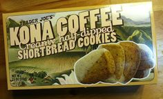 What's Good at Trader Joe's?: Trader Joe's Kona Coffee Shortbread Cookies